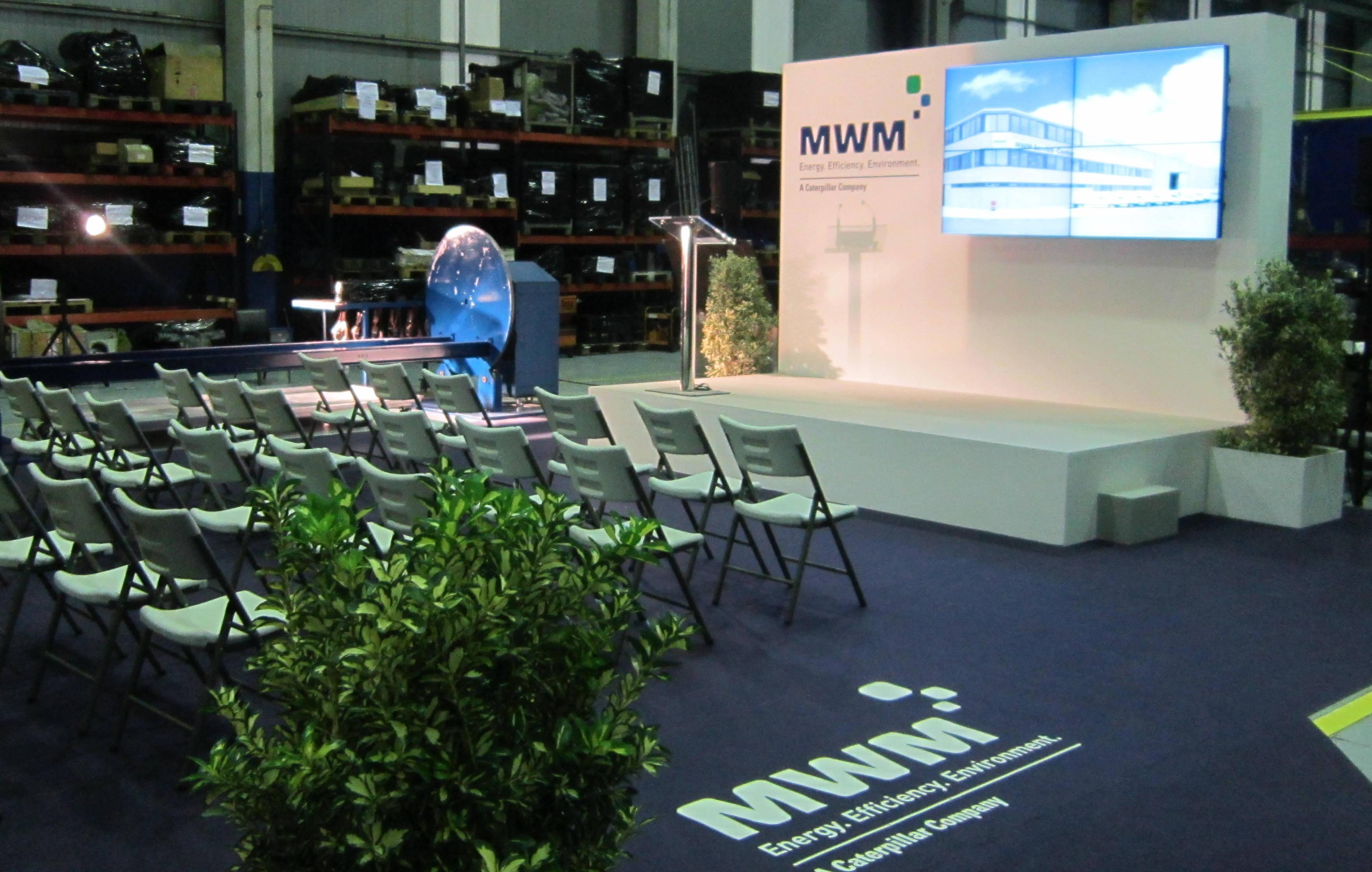 Reunión MWM Energy España, Consorcio Zona Franca Vigo