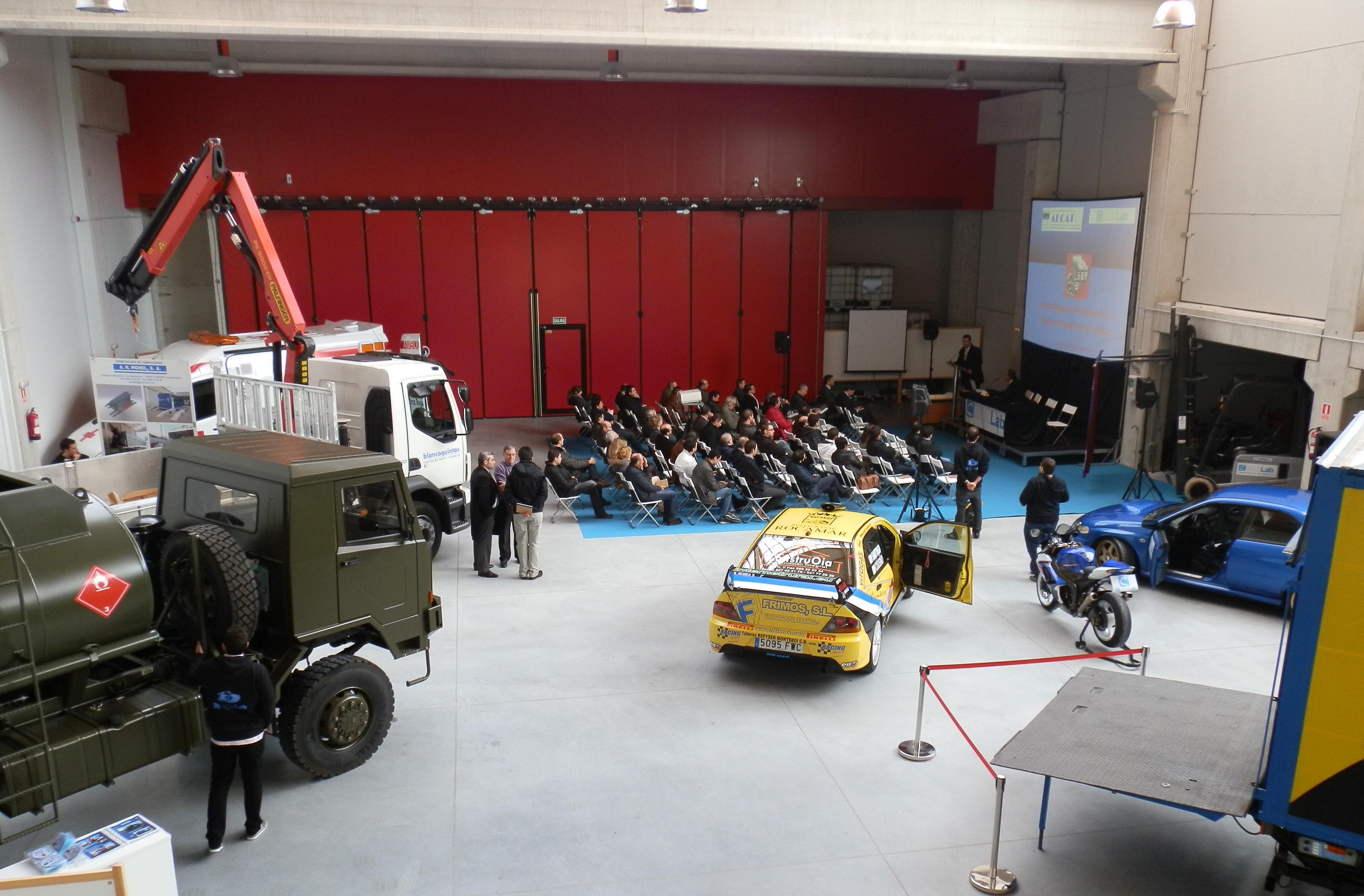 Inauguración Laboratorio Cimalab-Porto do Molle, Nigrán